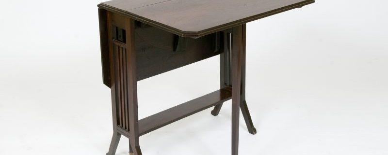 Mesa de Alas antigua Victoriana
